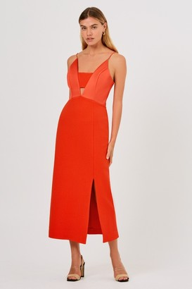 Finders Keepers SERENA DRESS Morange