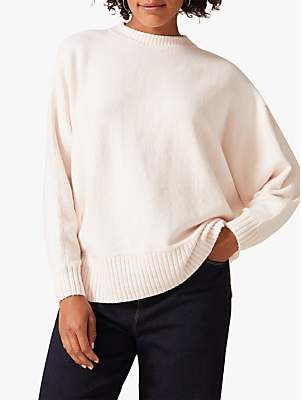 Phase Eight Palmer Knit Jumper, Pale Pink