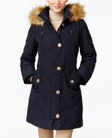MICHAEL Michael Kors Hooded Faux-Fur-Trim Down Parka