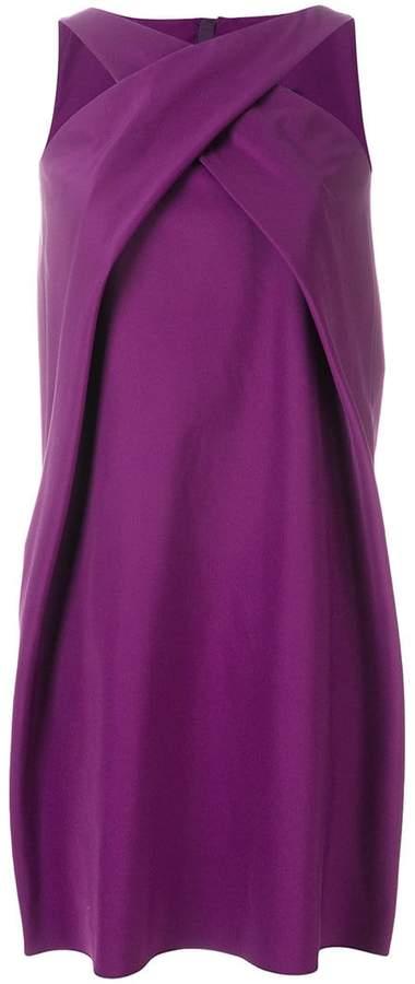 Paule Ka halter neck shift dress