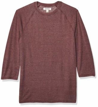Goodthreads Amazon Brand Men's Lightweight Burnout Baseball T-Shirt