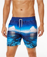 "Velero Men's Panoramic Sea Swim Trunks, 6"""