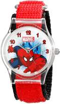 Marvel Kids' W001727 Spider-Man Analog Display Analog Quartz Red Watch