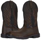 Wolverine Stockman DuraShocks CarbonMAX Wellington Work Boot (Black/Brown) Men's Work Lace-up Boots