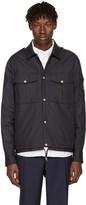 Moncler Gamme Bleu Navy Short Military Jacket