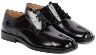 Maison Margiela Tabi leather Derby shoes
