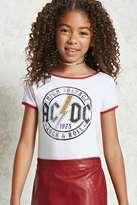 Forever 21 FOREVER 21+ Girls ACDC Bodysuit (Kids)