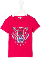 Kenzo logo print T-shirt - kids - Cotton/Spandex/Elastane - 2 yrs