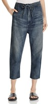 Vince Cropped Drawstring Jeans