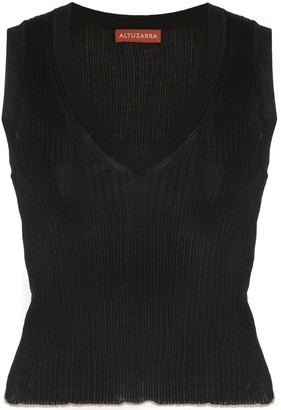Altuzarra Parrish knitted vest