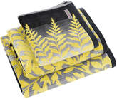 Clarissa Hulse Filix Towel - Charcoal - Bath Sheet