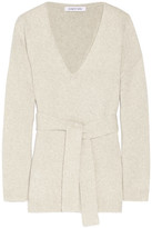 Elizabeth and James Barrett Tie-front Wool-blend Sweater - Beige