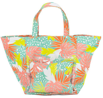 Vue Bali Print Beach Tote With Pillow