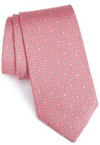 Salvatore Ferragamo Men's Gancini & Star Print Silk Tie