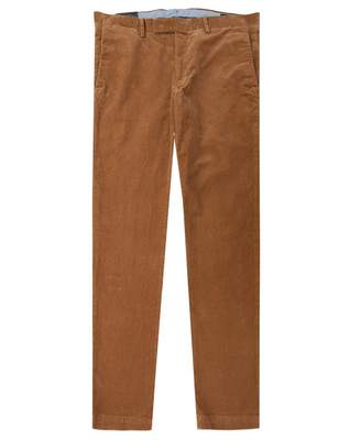 Polo Ralph Lauren Slim Fit 5 Pocket Cords Colour: KHAKI, Size: 30R