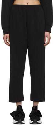 MM6 MAISON MARGIELA Black Straight Lounge Pants
