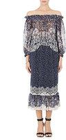 Saloni Women's Elisa Peasant Maxi Dress