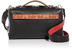 MCM Milano Small Boston Leather Crossbody