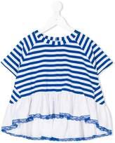 MonnaLisa striped A-line dress