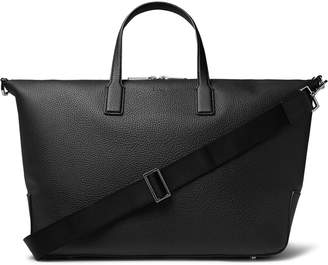 HUGO BOSS Full-Grain Leather Holdall