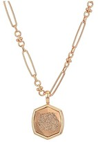 Kendra Scott Gage Short Strand Necklace (Gold/Smoky Crystal) Earring