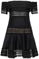Thurley Salvador Strapless Lace Dress