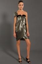 Draped Asymmetrical Dress