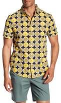Original Penguin Lemon Short Sleeve Slim Fit Shirt