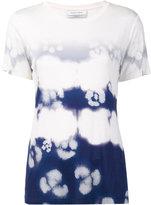 Prabal Gurung shibori print T-shirt - women - Polyester/Viscose - XS