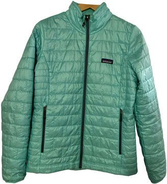Patagonia Turquoise Polyester Jackets