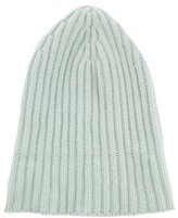 Malo Cashmere Rib Knit Beanie