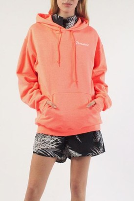 PARADISED The Geo P Hoodie In Retro Coral - S
