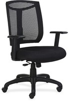 Lorell Mesh Back Chair With Air Grid Fabric Seat Lorell