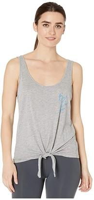 good hYOUman Renley Best Day Ever Tank (Light Heather Grey) Women's Clothing