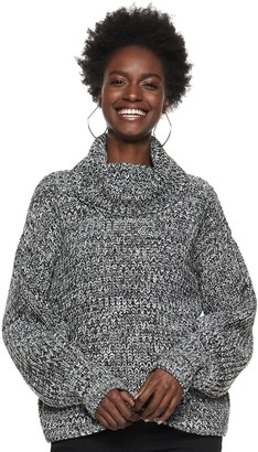 Nine West Women's Chunky Turtleneck Sweater