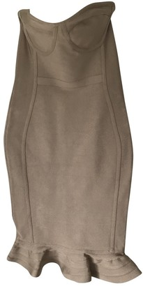House Of CB Beige Dress for Women