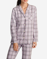 Eddie Bauer Women's Stine's Favorite Flannel Sleep Shirt