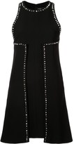 Proenza Schouler Studded Textured Crepe Dress
