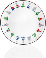 Home Essentials Festive Tree Border Salad Plate, Created for Macy's