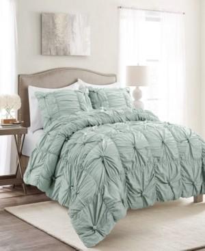 Lush Decor Bella 3-Piece Full/Queen Comforter Set Bedding