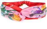 Gucci printed hairband - women - Silk/Cotton/Polyester - One Size