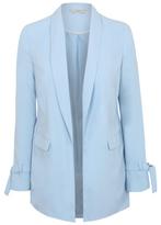 George Tie Sleeve Blazer Jacket