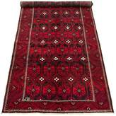 """One-of-a-Kind Sutere Southwestern Hand-Knotted Runner 5'8"""" x 14'1"""" Wool Red Area Rug World Menagerie"""