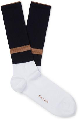 Falke Colour-Block Stretch-Knit Socks