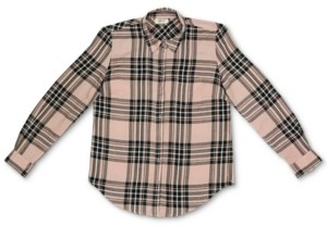 Style&Co. Style & Co Plaid Button-Front Top, Created for Macy's
