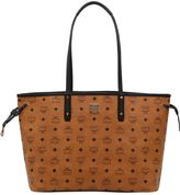 MCM Medium Reversible Faux Leather Tote Bag