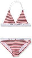 Tommy Hilfiger Girl's Ame BI Color Stripe YD Bikini
