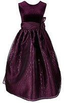 Jayne Copeland Big Girls 7-12 Velvet-Organza Dress