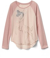 Gap GapKids | Disney Bambi embellished graphic hi-lo tee