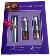 Mariah Carey , Luscious Pink Refillable Purse Spray and Purser Refil 3 Eaux De Perfum.28 Fl Oz by